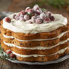 Lofty Layered Fruitcake