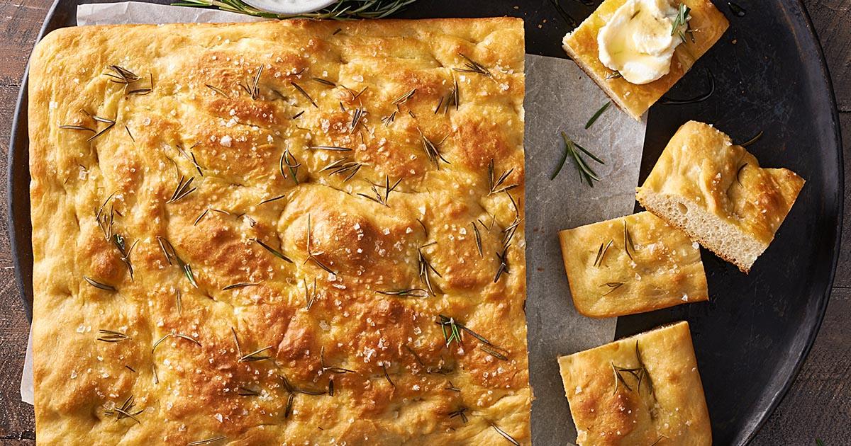 Sourdough Focaccia Recipe | King Arthur Flour