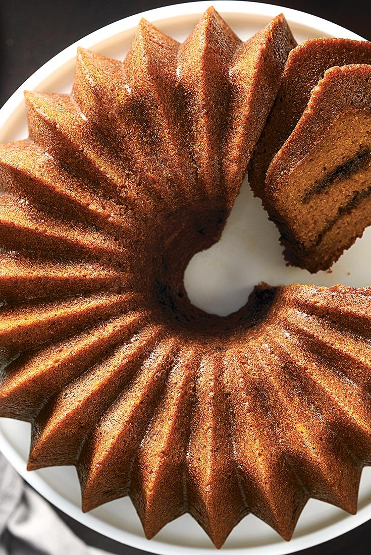 King Arthur Flour Pumpkin Espresso Bundt Cake