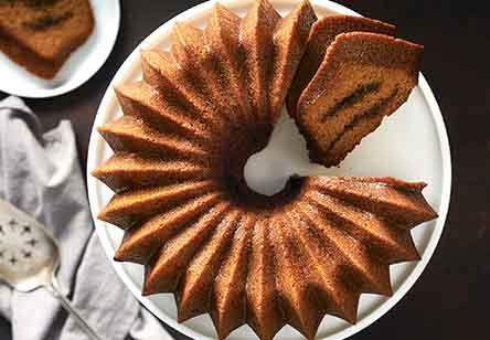 Pumpkin Espresso Bundt Cake