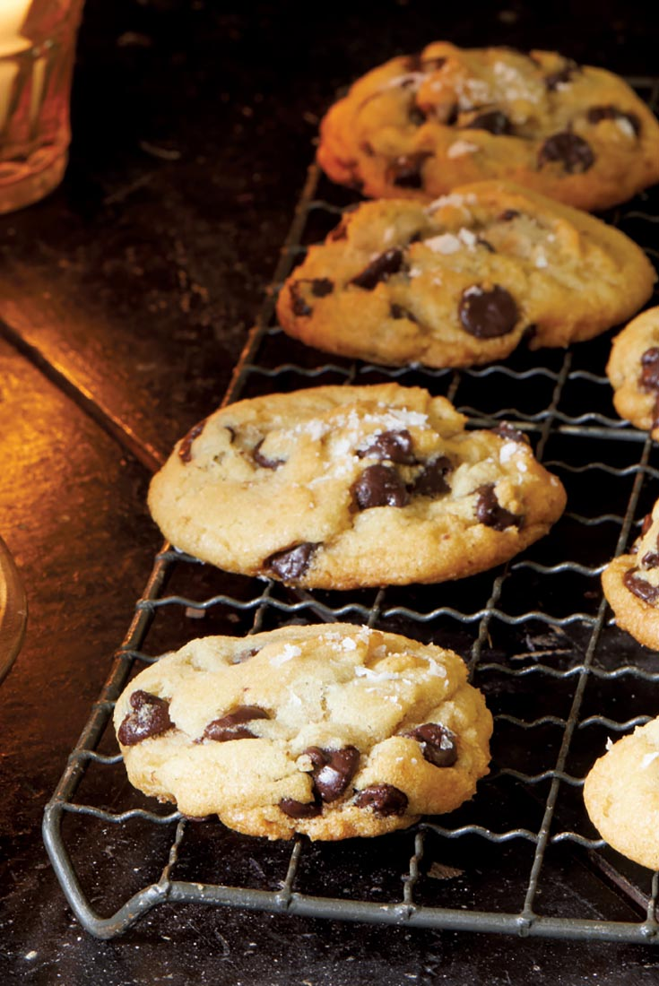 Vegan Salted Chocolate Chip Cookies Recipe