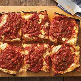 King Arthur's Detroit-Style Pizza
