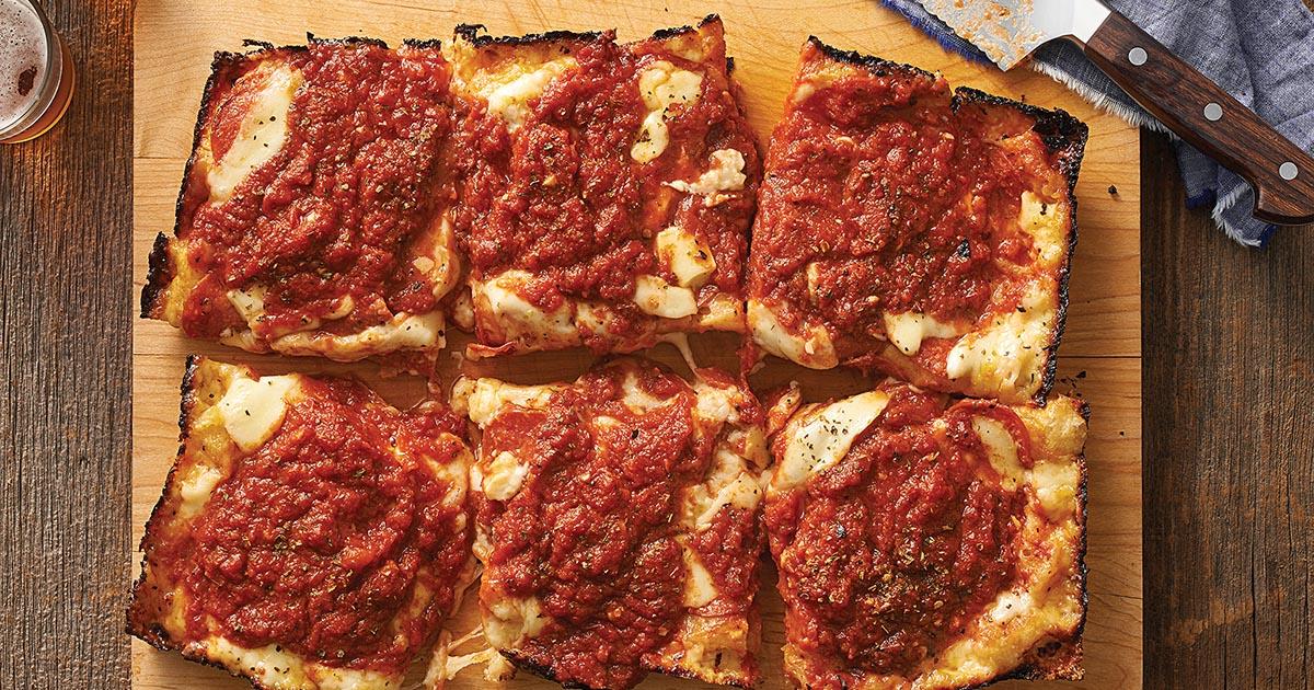 King Arthur S Detroit Style Pizza Recipe King Arthur Flour
