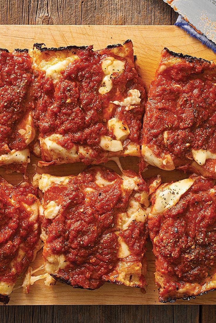 King Arthur's Detroit-Style Pizza Recipe