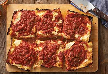 King Arthur's Detroit-Style Pizza