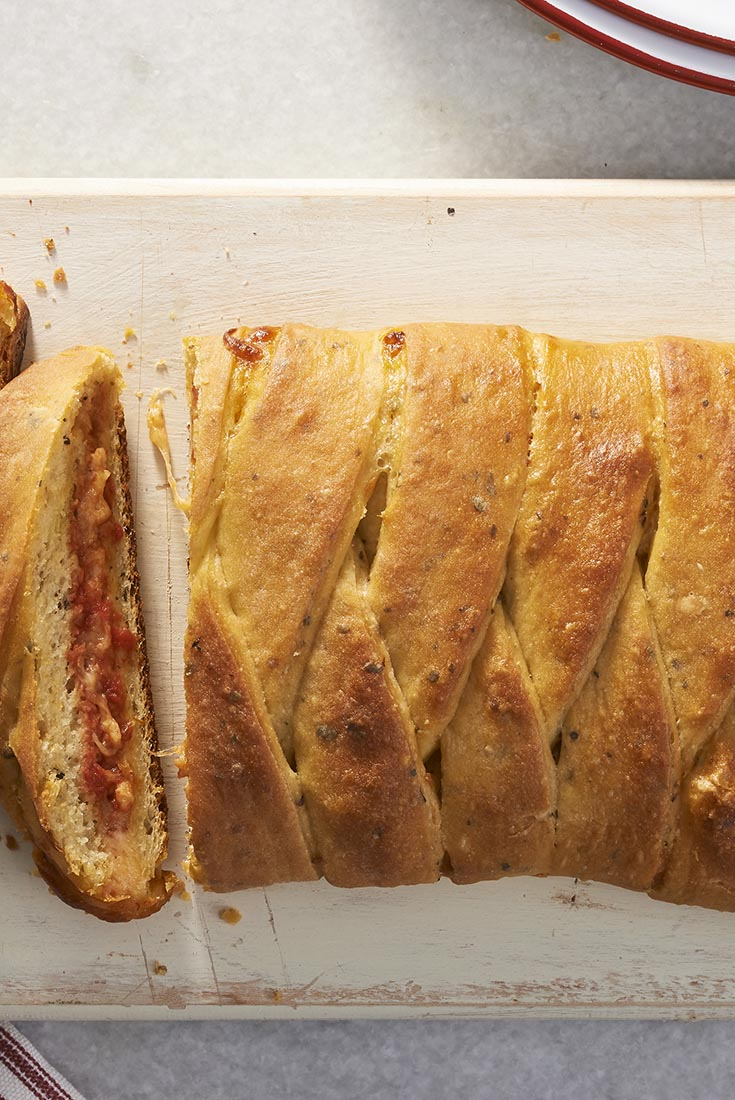 Pizza Braid Recipe