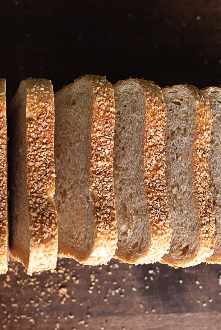 Sprouted Wheat Pain de Mie Recipe