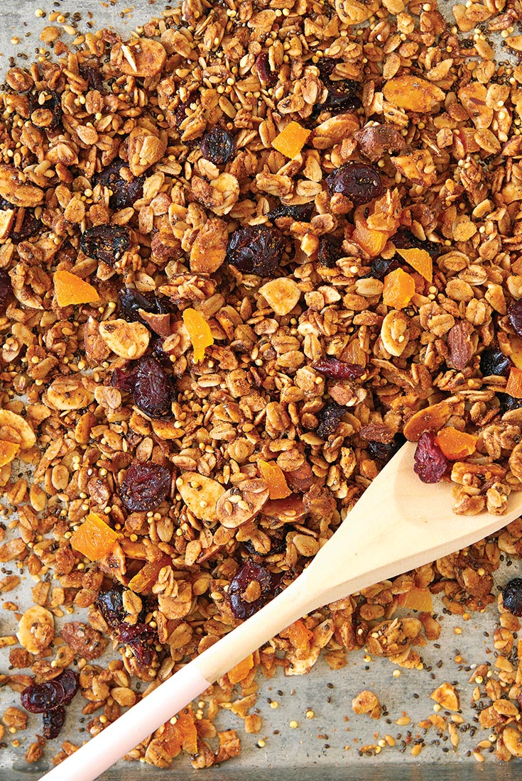 Cranberry Apricot Almond Granola Recipe