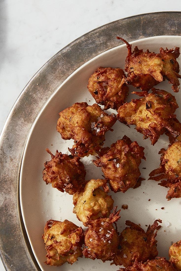 Crunchy Potato Puffs  Recipe