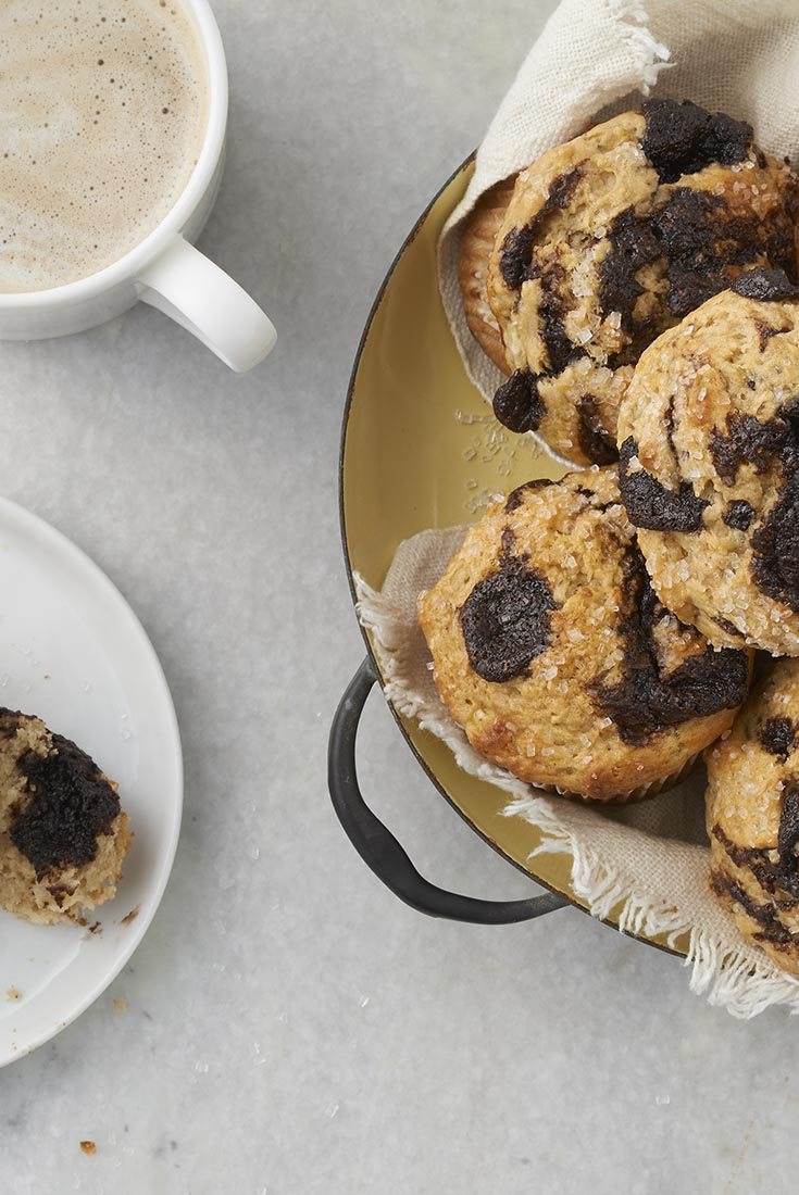 Malted Banana Muffins Recipe