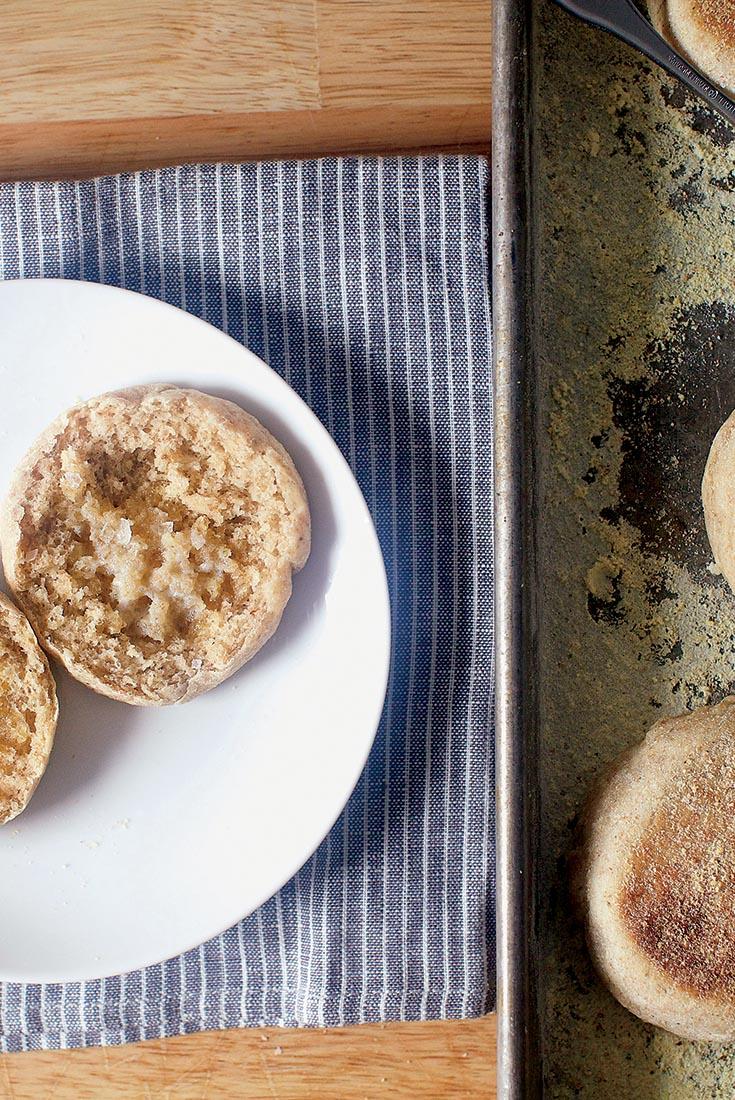 Deli Rye English Muffins Recipe