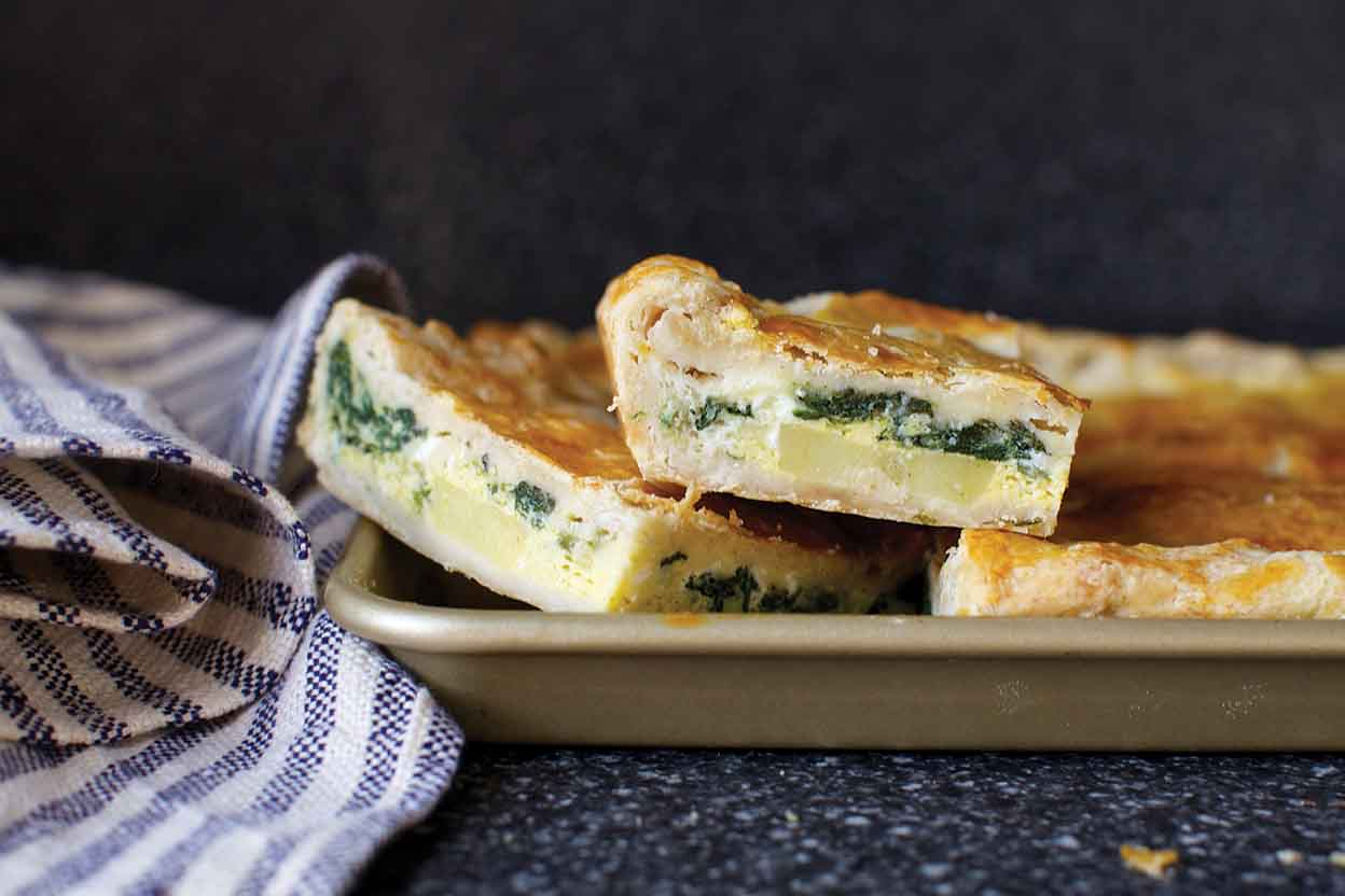 Breakfast Slab Pie Recipe King Arthur Flour