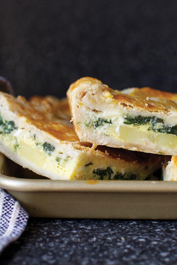 Breakfast Slab Pie Recipe