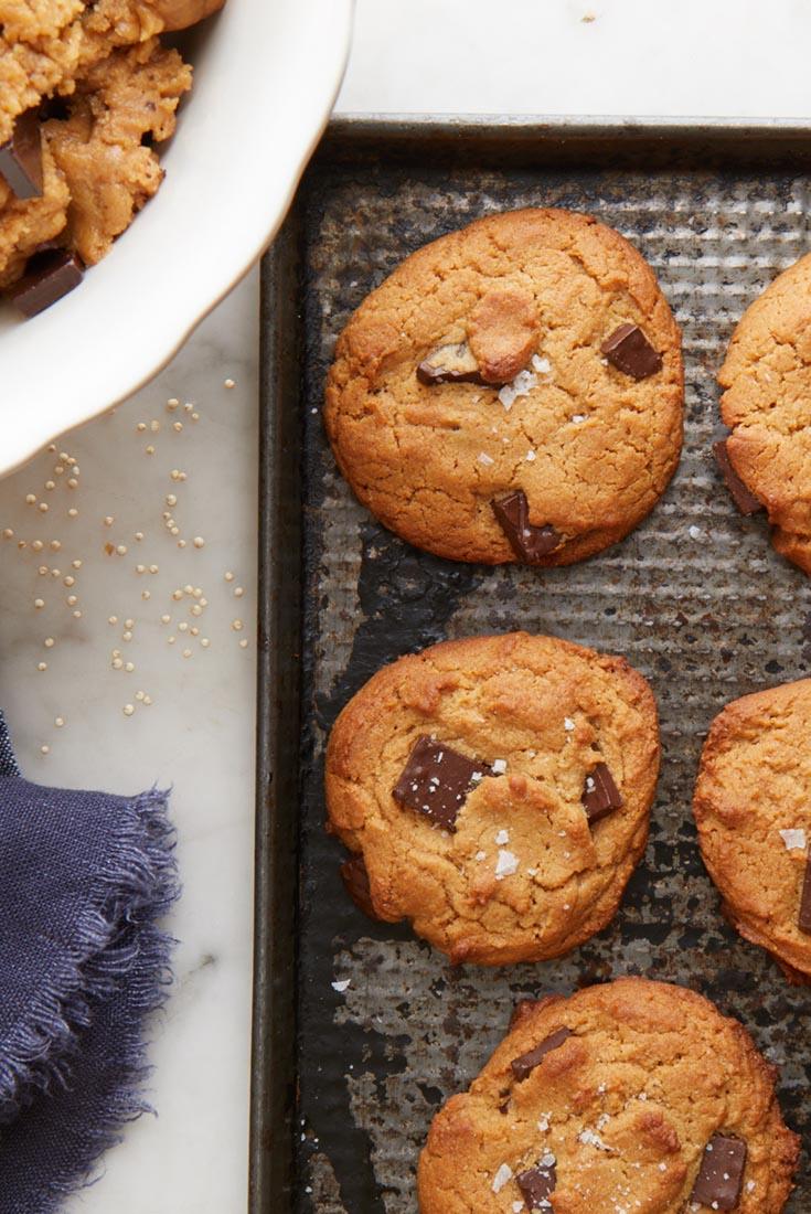 Quinoa Peanut Butter Cookies Recipe