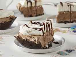 Mocha Madness Ice Cream Pie
