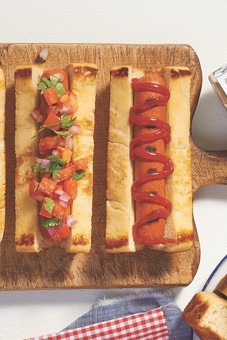 Sourdough Hot Dog Buns Recipe