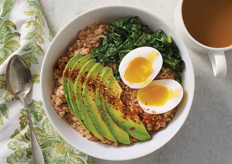 Savory Six-Grain Breakfast Bowl