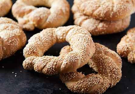 Turkish Simit Breads