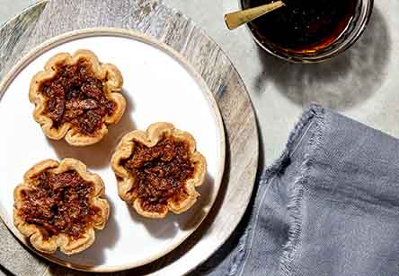 Maple, Molasses, and Bacon Butter Tarts