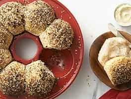 Chewy Sourdough Rolls