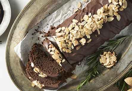 Chocolate Almond Flour Torte