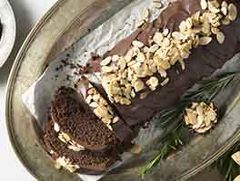 Chocolate Almond Flour Torte