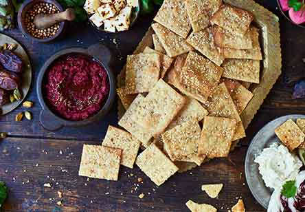 Falafel Crackers