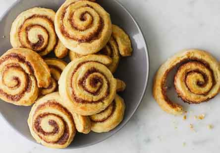 Cinnamon Pinwheel Biscuits
